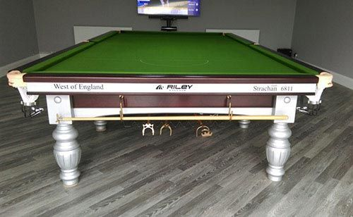 Riley Aristocrat Steel Block Snooker Table